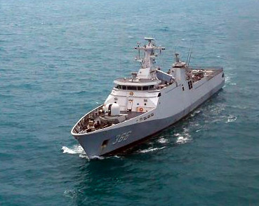 Brave Indonesian Navy countered the force od darkness