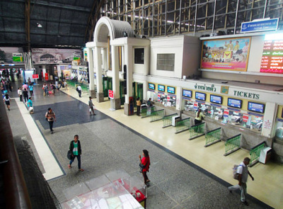 Hua Lamphong ticket counters