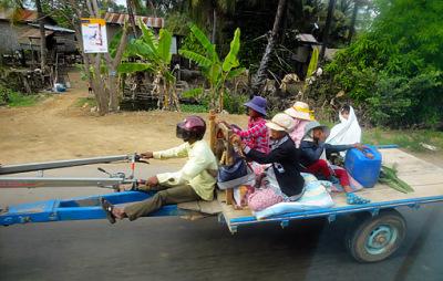 open air travel at Koh Kong