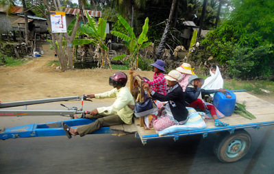 open air travel at Koh Kong
