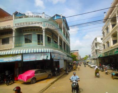 french style in battambang