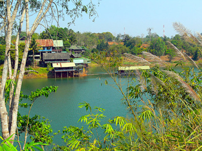 River Kwai reservoir