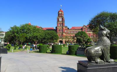 high court building yangon