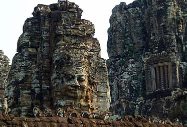 Smiling Face tower in the Bayon Precinct