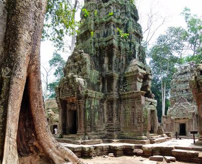famous bayon temple