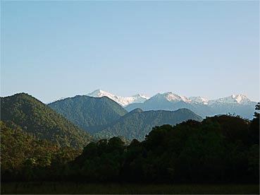 Myanmar mountains