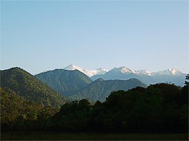 Myanmar mountains