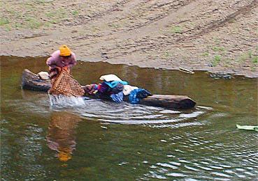 Myanmar river activities