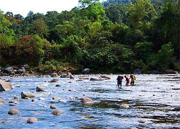 wild water trekking