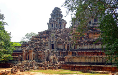 the old palace in Angkor Thom