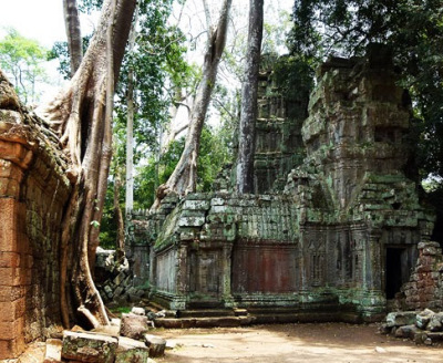 hidden temples in the jungle