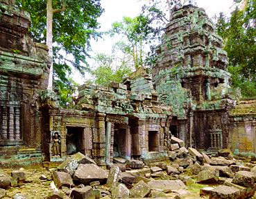 fascinating temple ruine
