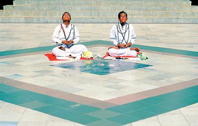 Buddhist devotees