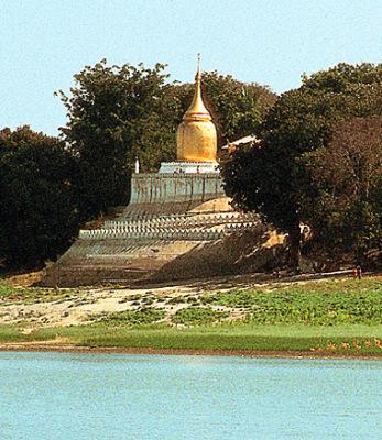 The Bupaya Pagoda in Bagan