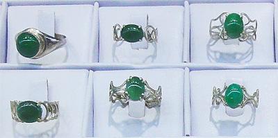 green silver jadeite jade jewelry