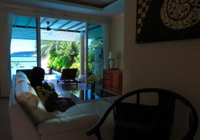 beach villa on an ASEAN island