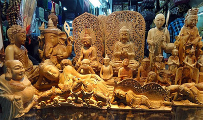 sandalwood sculptures for sale