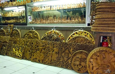 teak wood wall decoration