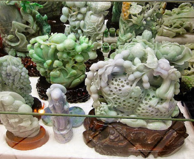 Yangon jade shopping at Bogyoke Aung San Bazaar