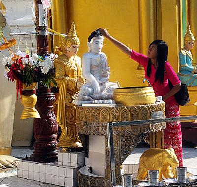 The stupa platform