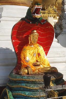 The Shwedagon platform