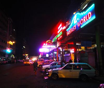 Chinatown nightlife
