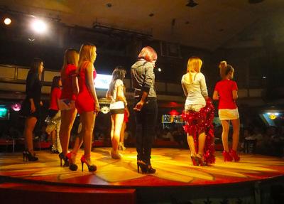 Dance show in Yangon