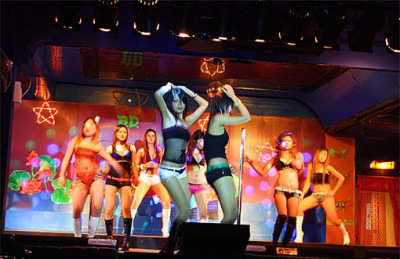 girls show in Phuket