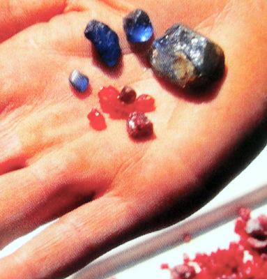 raw mined ruby