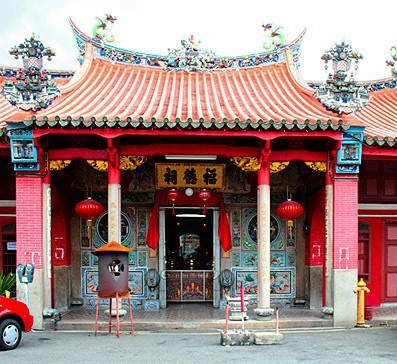 Chinese temple in Penang