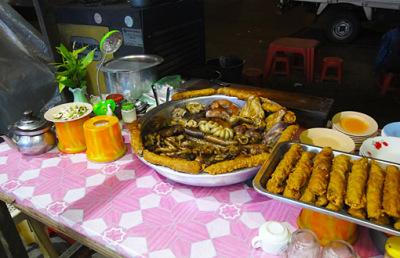 Mahabandoola street food