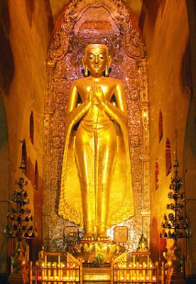 The Kassapa Buddha Statue