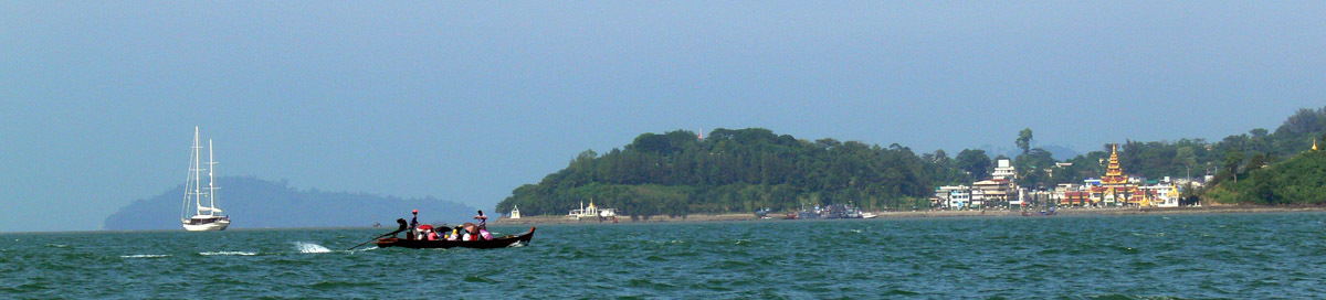 Myanmar Thailand Border