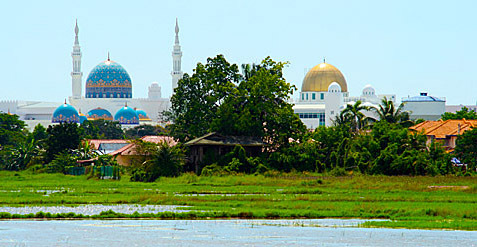 Malaysia and muslim places