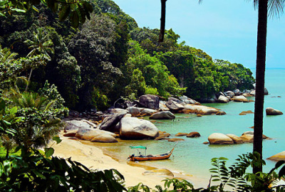 Malaysia Tourist Spots on the sea