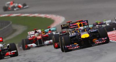 sepang F1 race