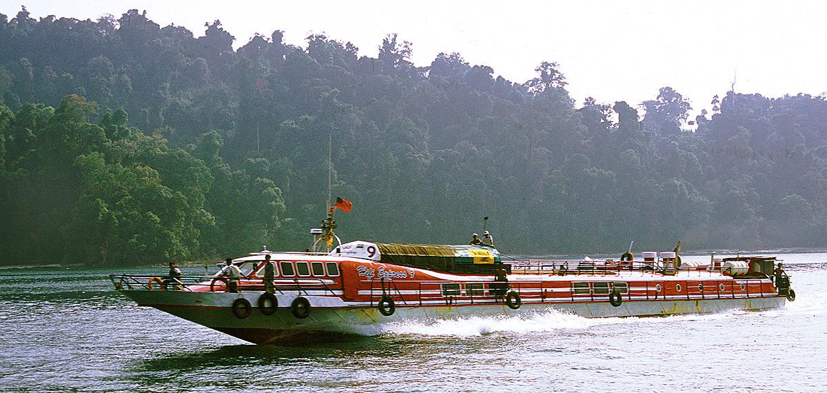 south Myanmar ship travel