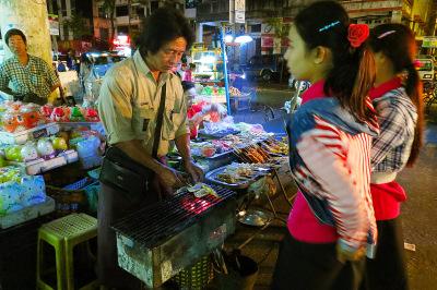 fast food in Yangon