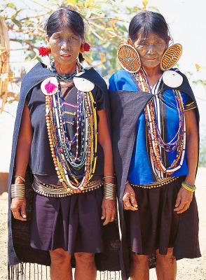 Myanmar tribal fashion