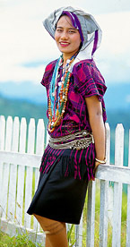 northern Myanmar fashion style
