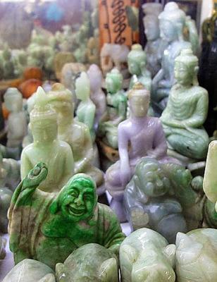 Bogyoke Market Jade Buddha