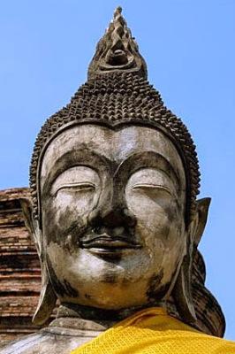 Buddha head Ayutthaya style