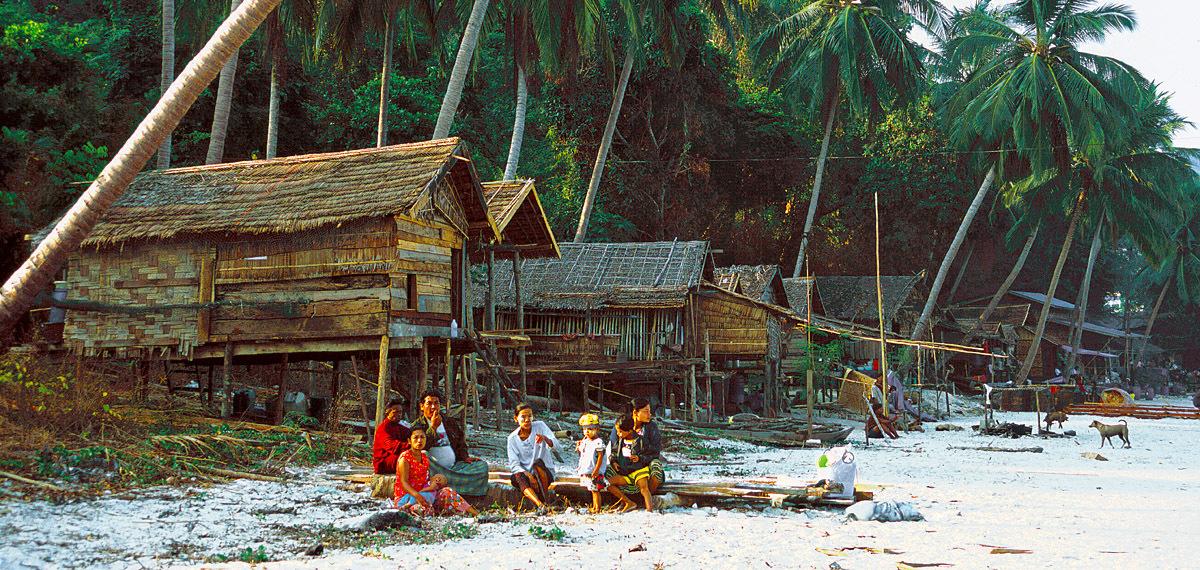 south Myanmar island beach
