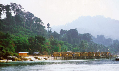 native style beach village