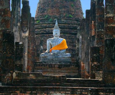 Sitting Buddha in Sukhuthai