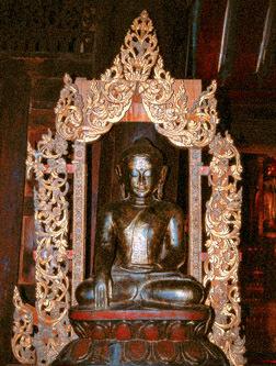 Sitting Buddha from Bagan