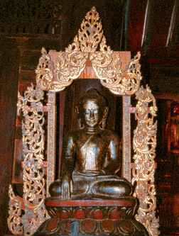Sitting Buddha from Bagan