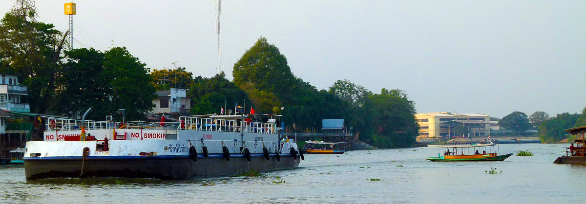 Chao Phraya at Ayutthaya