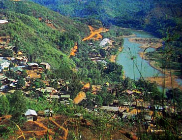 Myanmar Hpakant jade mine district