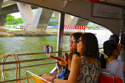 Chao Phraya and the selfie